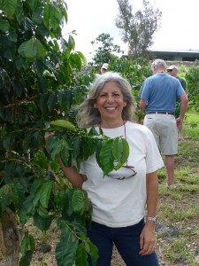 KCFA Board Member Anita Kelleher at Coffee Talk
